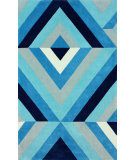 RugStudio presents Nuloom Hand Tufted Roxy Blue Hand-Tufted, Good Quality Area Rug
