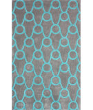 RugStudio presents Nuloom Hand Tufted Serene Blue Hand-Tufted, Good Quality Area Rug