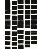 RugStudio presents Nuloom Hand Tufted Chex Black Hand-Tufted, Good Quality Area Rug