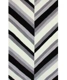 RugStudio presents Nuloom Hand Tufted Divide Black Hand-Tufted, Good Quality Area Rug