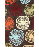 RugStudio presents Nuloom Hand Tufted Micro Coffee Hand-Tufted, Good Quality Area Rug