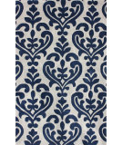 RugStudio presents Nuloom Hand Tufted Sarah Navy Hand-Tufted, Good Quality Area Rug