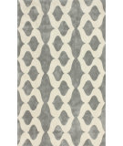 RugStudio presents Nuloom Hand Tufted Jillian Grey Hand-Tufted, Good Quality Area Rug