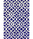 RugStudio presents Nuloom Hand Tufted Kamran Blue Hand-Tufted, Good Quality Area Rug
