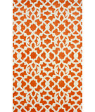 RugStudio presents Nuloom Hand Tufted Kamran Orange Hand-Tufted, Good Quality Area Rug