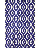 RugStudio presents Nuloom Hand Tufted Horatio Blue Hand-Tufted, Good Quality Area Rug
