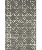 RugStudio presents Nuloom Hand Tufted Lina Charcoal Hand-Tufted, Good Quality Area Rug