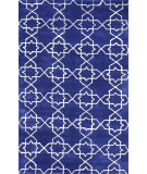 RugStudio presents Nuloom Hand Tufted Lina Royal Blue Hand-Tufted, Good Quality Area Rug