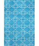 RugStudio presents Nuloom Hand Tufted Lina Light Blue Hand-Tufted, Good Quality Area Rug