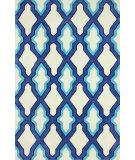 RugStudio presents Nuloom Hand Tufted Skylight Trellis Blue Hand-Tufted, Good Quality Area Rug
