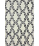RugStudio presents Nuloom Hand Tufted Skylight Trellis Grey Hand-Tufted, Good Quality Area Rug