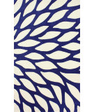 RugStudio presents Nuloom Hand Tufted Side Bloom Blue Hand-Tufted, Good Quality Area Rug