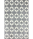 RugStudio presents Nuloom Hand Tufted Clove Stamp Grey Hand-Tufted, Good Quality Area Rug