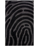 RugStudio presents Nuloom Cine Index Black Hand-Tufted, Good Quality Area Rug