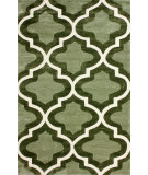 RugStudio presents Nuloom Hand Tufted Zachery Green Hand-Tufted, Good Quality Area Rug