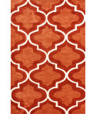 RugStudio presents Nuloom Hand Tufted Zachery Rust Hand-Tufted, Good Quality Area Rug