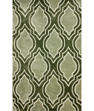 RugStudio presents Nuloom Hand Tufted Anson Green Hand-Tufted, Good Quality Area Rug