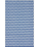 RugStudio presents Nuloom Hand Woven Spectrum Royal Blue Woven Area Rug