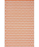RugStudio presents Nuloom Hand Woven Spectrum Orange Woven Area Rug