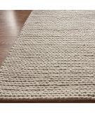RugStudio presents Nuloom Textures Cable Chunky White Hand-Knotted, Better Quality Area Rug