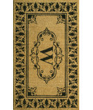 RugStudio presents Nuloom Machine Made Letter Mat Letter W Machine Woven, Good Quality Area Rug