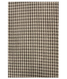 RugStudio presents Nuloom Hand Woven Houndstooth Brown Woven Area Rug