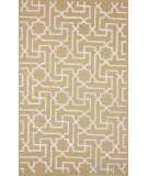 RugStudio presents Nuloom Machine Woven Star Lines Natural Machine Woven, Good Quality Area Rug