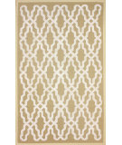RugStudio presents Nuloom Machine Woven Centered Trellis Natural Machine Woven, Good Quality Area Rug