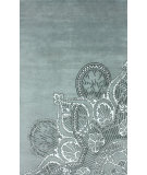 RugStudio presents Nuloom Hand Knotted Extravaganza Light Grey Hand-Knotted, Good Quality Area Rug