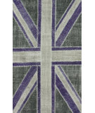 RugStudio presents Nuloom Hand Knotted Union Jack Multi Hand-Knotted, Good Quality Area Rug