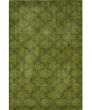 RugStudio presents Nuloom Hand Knotted Bold Overdye Trellis Lime Hand-Knotted, Good Quality Area Rug