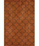 RugStudio presents Nuloom Hand Knotted Bold Overdye Trellis Orange Hand-Knotted, Good Quality Area Rug
