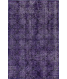 RugStudio presents Nuloom Hand Knotted Bold Overdye Trellis Purple Hand-Knotted, Good Quality Area Rug