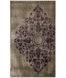 RugStudio presents Nuloom Hand Knotted Melina Ovedyed Style Grey Hand-Knotted, Good Quality Area Rug