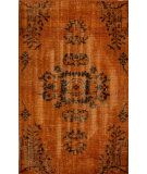 RugStudio presents Nuloom Hand Knotted Pierre Overdyed Orange Hand-Knotted, Good Quality Area Rug