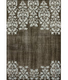 RugStudio presents Nuloom Hand Knotted Yasi Brown Hand-Knotted, Good Quality Area Rug