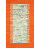 RugStudio presents Nuloom Flatweave Tasha Orange Flat-Woven Area Rug