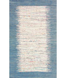 RugStudio presents Nuloom Flatweave Tasha Denim Flat-Woven Area Rug