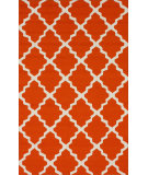 RugStudio presents Nuloom Hand Hooked Filigree Outdoor Orange Hand-Hooked Area Rug