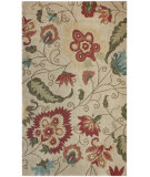 RugStudio presents Nuloom Hand Hooked Falling Stems Ivory Hand-Hooked Area Rug