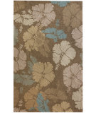 RugStudio presents Nuloom Hand Hooked Pads Brown Hand-Hooked Area Rug