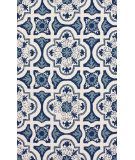 RugStudio presents Nuloom Hand Hooked Alexandria Light Blue Hand-Hooked Area Rug