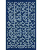 RugStudio presents Nuloom Hand Hooked Giza Blue Hand-Hooked Area Rug