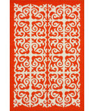 RugStudio presents Nuloom Hand Hooked Giza Orange Hand-Hooked Area Rug