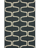 RugStudio presents Nuloom Contempo Trellis Charcoal Hand-Hooked Area Rug