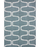 RugStudio presents Nuloom Hand Hooked Talia Light Blue Hand-Hooked Area Rug