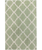 RugStudio presents Nuloom Contempo Modern Trelllis Green Hand-Hooked Area Rug