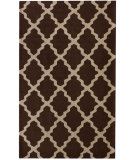 RugStudio presents Nuloom Contempo Modern Trelllis Chocolate Hand-Hooked Area Rug