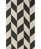 RugStudio presents Nuloom Contempo Cheveron Charcoal Hand-Hooked Area Rug
