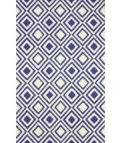 RugStudio presents Nuloom Hand Hooked Rex Blue Hand-Hooked Area Rug